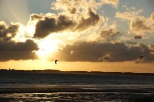 Kitesurfen Baarland